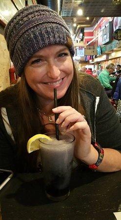 Lake Delton, WI: Drinking a Purple Monkey