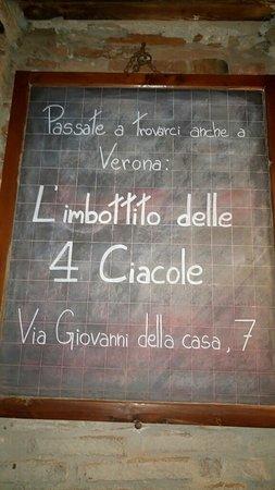 Roverchiara, Italie : Alcune immagimi che raffigurano interno della locanda