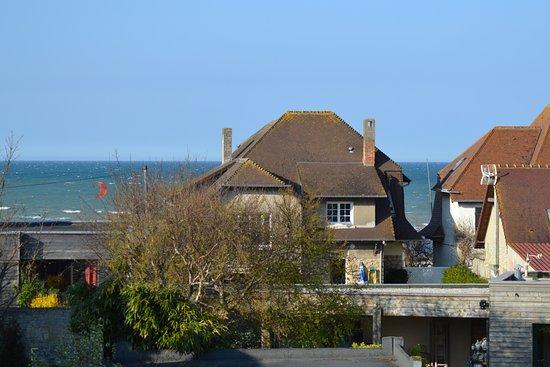 Hermanville-sur-mer, France : Vue sur mer