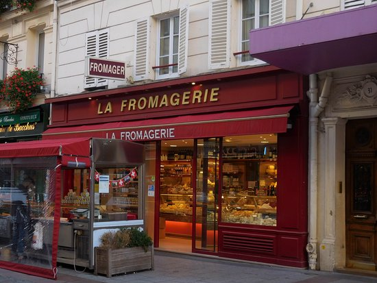 La Fromagerie : exterior