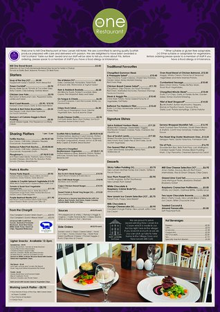 new lanark mill hotel sample restaurant menu