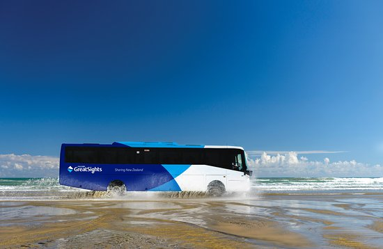 Fullers GreatSights Bay of Islands Day Tours : Cape Reinga & Ninety Mile Beach Day tour