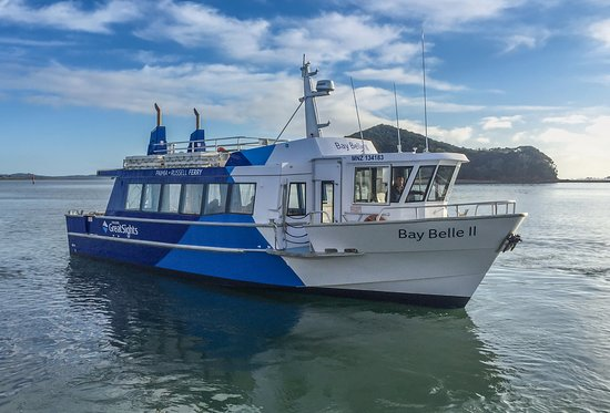 Fullers GreatSights Bay of Islands Day Tours : Visit Russell on the ferry