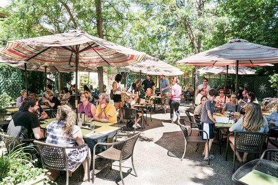 The Rainbow Restaurant Fort Collins Colorado Garden Patio Sunday