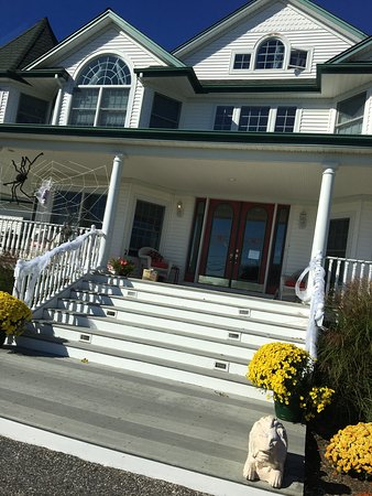 Eastport, État de New York : The front porch