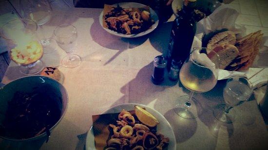 provincie Olbia-Tempio, Italië: Calamariiiii -yummy!