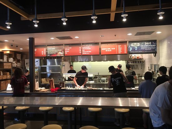 Oxford, OH: Worlds slowest Chipotle...