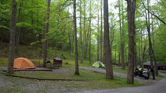 Cumberland, เคนตั๊กกี้: Kingdom Come Stater Park Campground