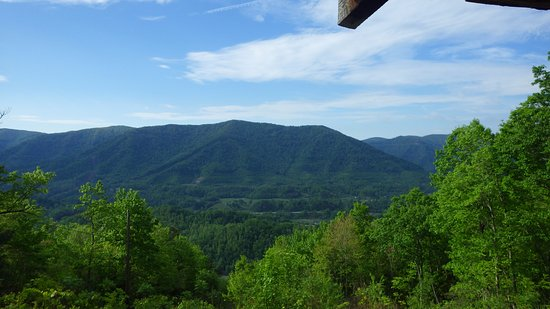 Cumberland, เคนตั๊กกี้: View from Kingdom Come State Park