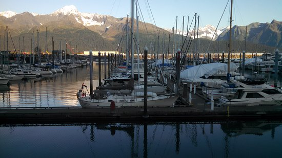 Chinooks Waterfront Restaurant: Harbor view from Chinook's