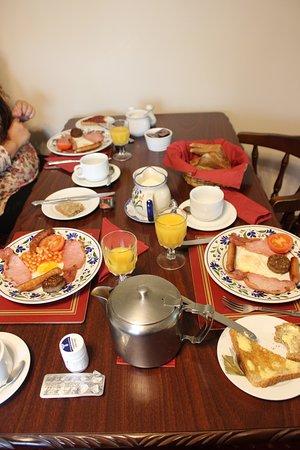 Ashbrook House B&B: Irish breakfast