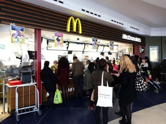 Mcdonald S Arndale Food Court Manchester Restaurant