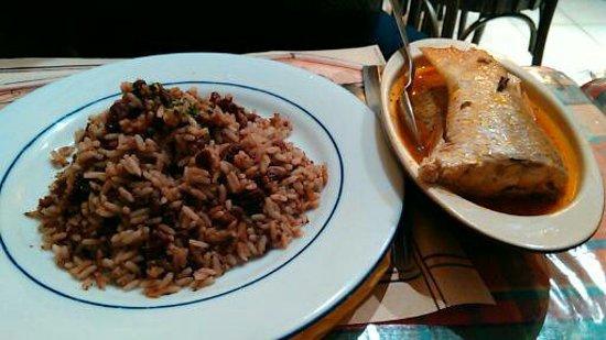 Court bouillon de poisson riz haricots rouge picture - Court bouillon poisson maison ...