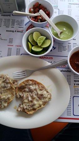Los Parados: Mi almuerzo: rico y rápido.
