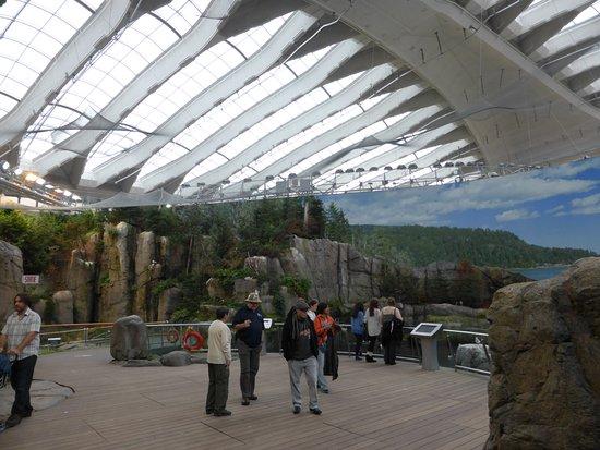 Montreal, Kanada: Biosphere panorama