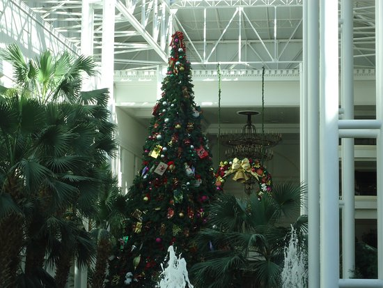 Gaylord Opryland Resort & Convention Center: CHRISTMAS TREE & CHRISTMAS WREATH