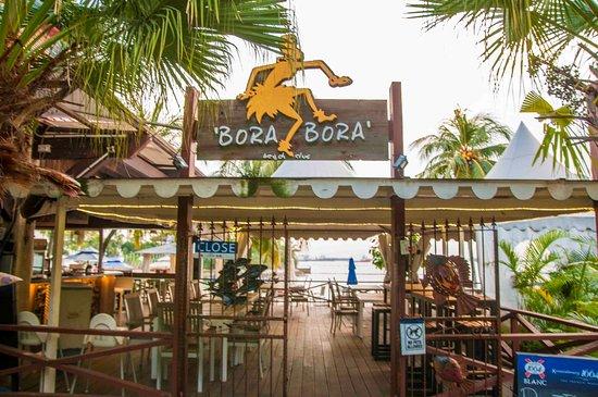 Bora Bora Beach Bar - Palawan Beach Photo
