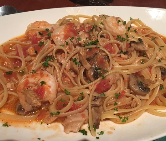 j f sanfilippo s restaurant pasta with see food