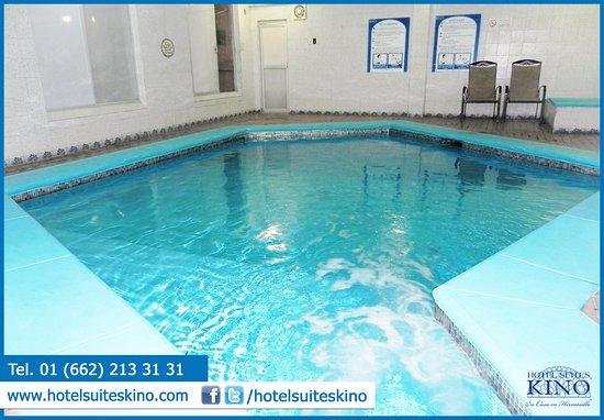 Foto de hotel suites kino hermosillo lobby y recepci n for Albercas portatiles en hermosillo