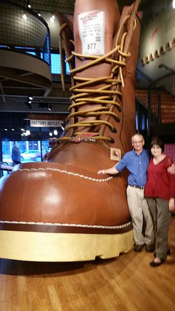 Red Wing, MN: The big boot!