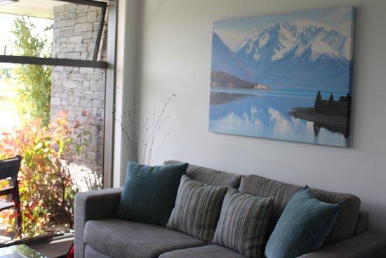 Lakeview Tekapo: Lounge area