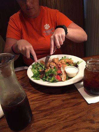 Palmetto Flats : Fried Chicken Salad