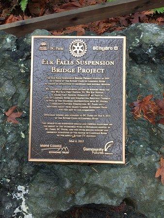 Campbell River, Canadá: Elk Falls Provincial Park