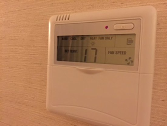 Istanbul Gonen Hotel : room is very cold and air condition does not work!!