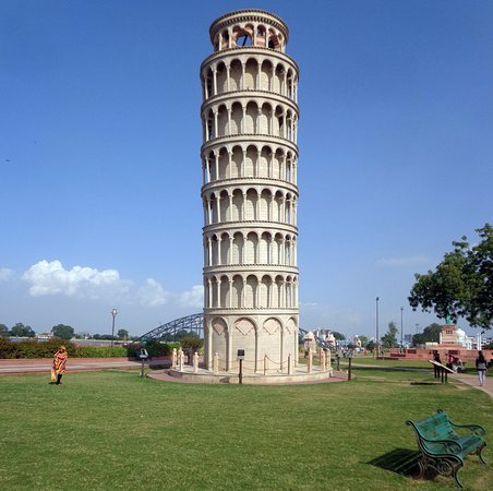 Kota, India:  Leaning Tower of Pisa