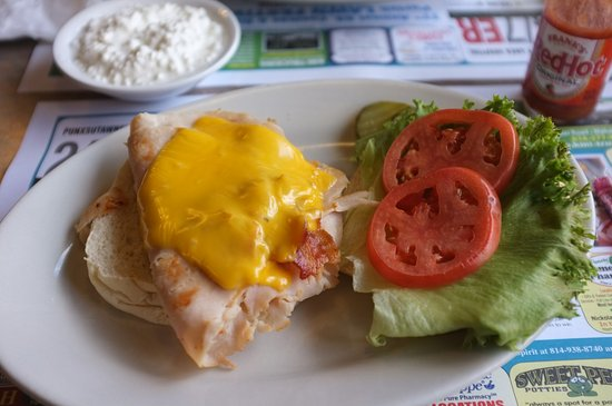 Punxsutawney, เพนซิลเวเนีย: Sandwich war ok.