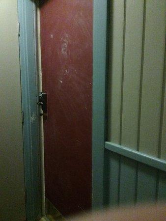 La Internacional Condos: Door to the room