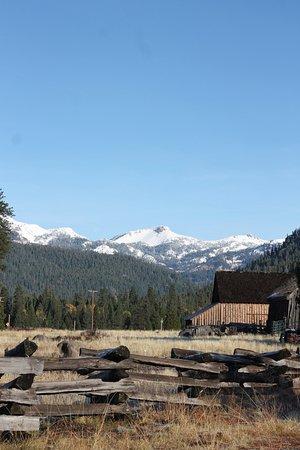 Mill Creek, Californië: A few miles from the lodge, Lassen.