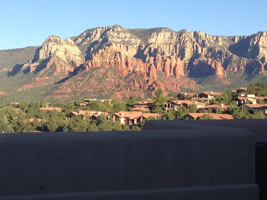 BEST WESTERN PLUS Inn of Sedona: View from East Side of Hotel