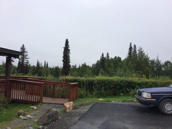 Denali hidden behind the clouds