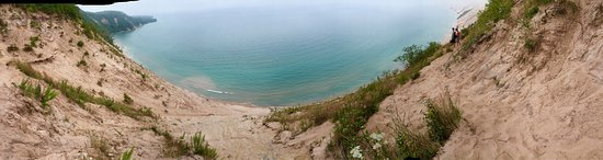 Grand Marais, MI: Breathtaking views from the top and bottom!