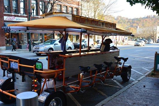 Pubcycle Tour Asheville Nc