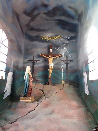 Iglesia de Jaji: parte de sus obras