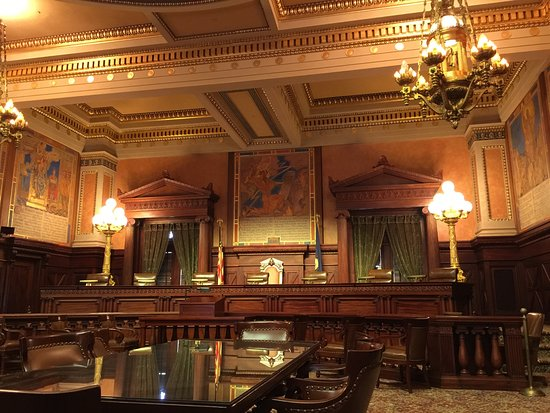 Pennsylvania State Capitol: Supreme Court chambers
