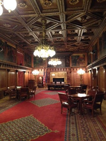 Pennsylvania State Capitol: Governor's recepton room