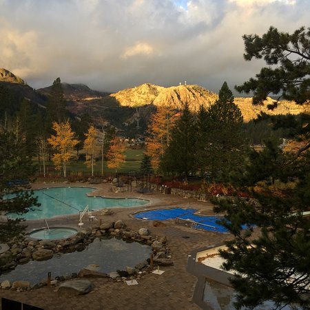 Resort at Squaw Creek: View from the hotel lobby