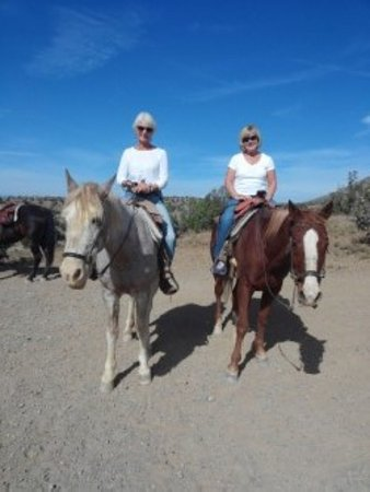 Cerrillos, NM: Broken Saddle ride.