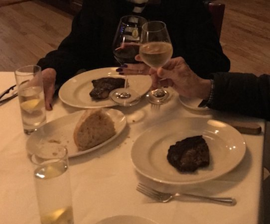 801 Chophouse St. Louis: I didn't like the display of the beef