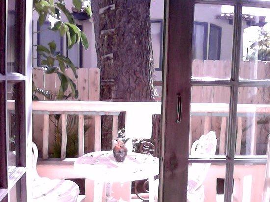 Del Mar, CA: My little balcony