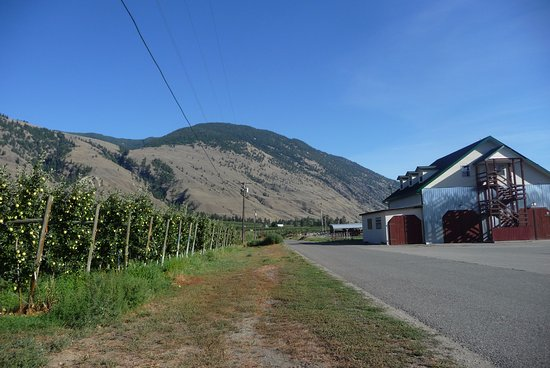 Cawston, Canada: Crowsnest Winery building