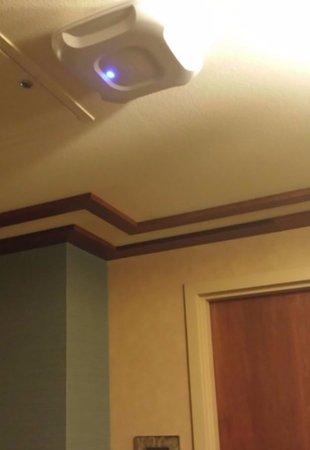 Pechanga Resort and Casino: Hallway WiFi Antenna.