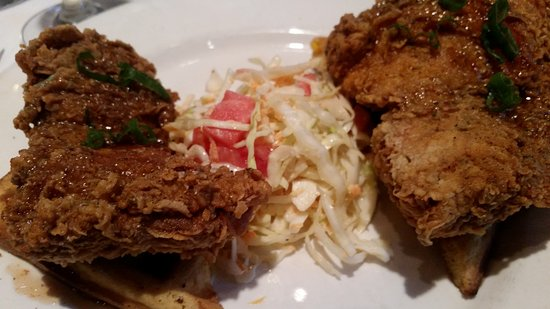 Emeril's New Orleans: Chicken and waffles