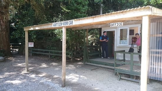 Northland Region, New Zealand: Ticket office