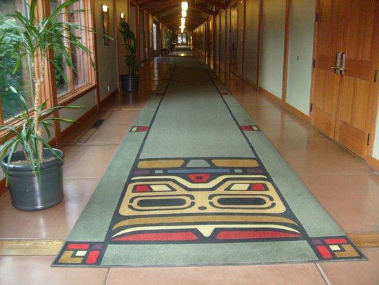Skamania Lodge: Hallway