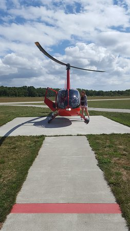 Birds eye view helicopter coupons