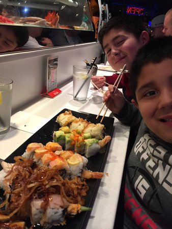 Arigato Sushi: My boys love this place.